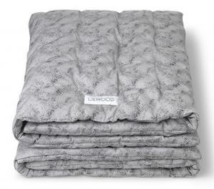 Tilbud på Liewood sengetaeppe minidot grey
