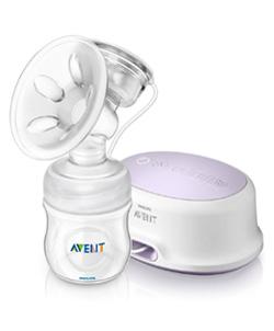 Bedste brystpumpetest - avent elektronisk brystpumpe