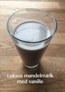 Luksus mandelmælk