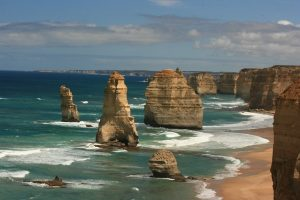 drømmerejsen til Australien starter ved twelve apostles