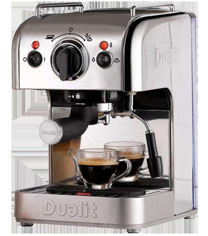 Dualit espressomaskine i grå