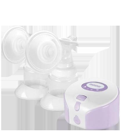 Mininor dobbelt brystpumpe elektrisk