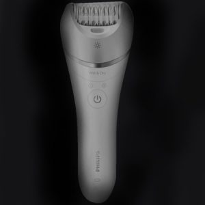 Braun epilator i sort